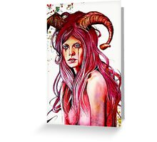 The Aries Greeting Card