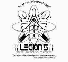 Legion's Fine Cuisine - Black (Red Dwarf) T-Shirt