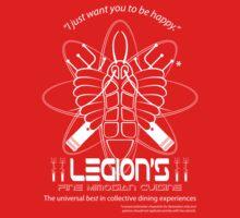 Legion's Fine Cuisine - White (Red Dwarf) Kids Clothes
