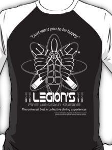 Legion's Fine Cuisine - White (Red Dwarf) T-Shirt