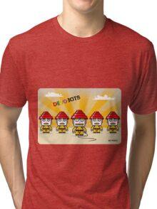 Devo Bots 005 Tri-blend T-Shirt