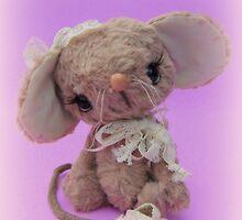 Handmade bears from Teddy Bear Orphans - Molly Mouse by Penny Bonser
