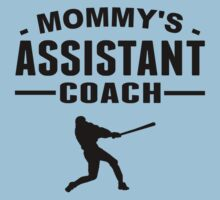 Mommy's Assistant Baseball Coach One Piece - Short Sleeve