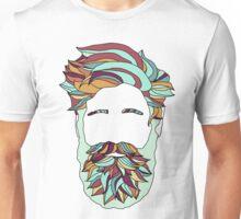 Rainbow Beard Unisex T-Shirt