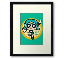 Soldier of the Deep Waters Framed Print