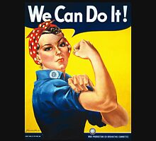 WE CAN DO IT, J. Rosie the Riveter, Howard Miller, American wartime propaganda poster T-Shirt