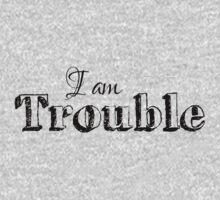 I am Trouble Kids Tee
