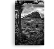 Thunder Rock Canvas Print