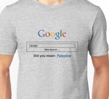 Google Web Search Palestine Unisex T-Shirt
