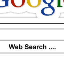 Google Web Search Palestine Sticker