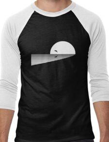 Leaping Dolphin Men's Baseball ¾ T-Shirt