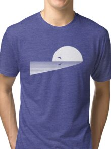 Leaping Dolphin Tri-blend T-Shirt