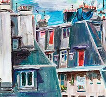Paris, Ordener Str. by Tatiana Ivchenkova