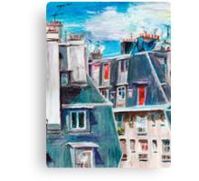 Paris, Ordener Str. Canvas Print