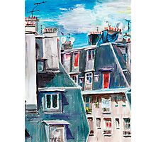 Paris, Ordener Str. Photographic Print