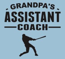 Grandpa's Assistant Baseball Coach One Piece - Short Sleeve