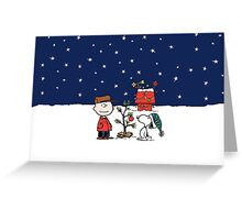 A Charlie Brown Christmas Greeting Card