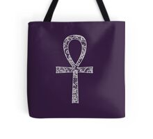 Lace Ankh Tote Bag