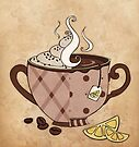 Coffee or Tea? by Mariya Olshevska