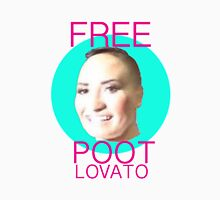 Free Poot Lovato Womens Fitted T-Shirt