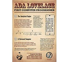 Ada Lovelace: First Computer Programmer Photographic Print