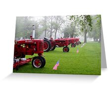 Farmall Memorial Greeting Card