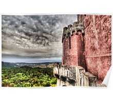 The Pena National Palace, Sintra - Portugal VIII Poster