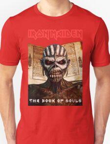 Iron Maiden the book of souls Tour 2016 Tarz03 T-Shirt