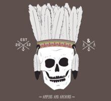 Thin Skin - Skull Headdress T-Shirt