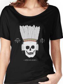 Thin Skin - Skull Headdress Women's Relaxed Fit T-Shirt