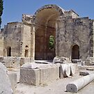 Gortyn Archaeological site in Crete by Grace Johnson