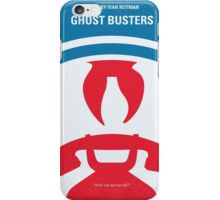 No104 My Ghostbusters minimal movie poster iPhone Case/Skin