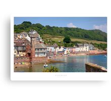 Kingsand, Cornwall Canvas Print