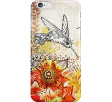 Hummingbird Garden iPhone Case/Skin