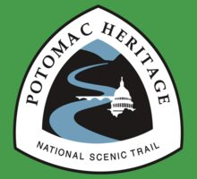 Potomac Heritage Trail Sign, USA One Piece - Short Sleeve
