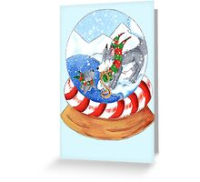 Polar Surprise Greeting Card