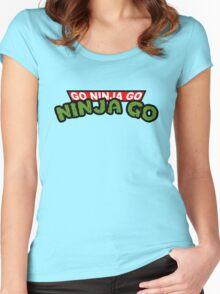 GO NINJA GO Women's Fitted Scoop T-Shirt