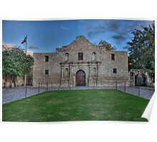Mission San Antonio de Valero (The Alamo) Poster