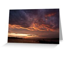 Purple Clouds - Crookhaven Heads Greeting Card