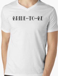 Bride To Be Mens V-Neck T-Shirt