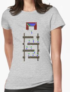 Lemmings #02 Womens Fitted T-Shirt
