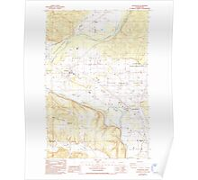 USGS Topo Map Washington State WA Rochester 243493 1986 24000 Poster