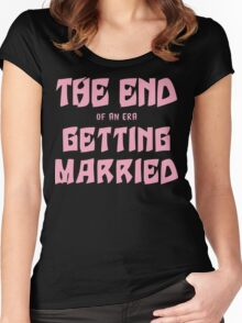Getting Married Women's Fitted Scoop T-Shirt