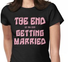 Getting Married Womens Fitted T-Shirt