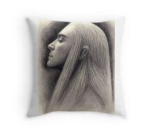 King Thranduil Throw Pillow