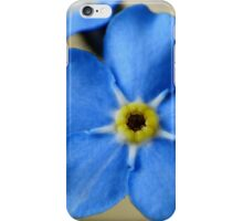 Forget-Me-Nots 11 iPhone Case/Skin