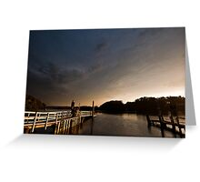 Orient Point Jetty Greeting Card