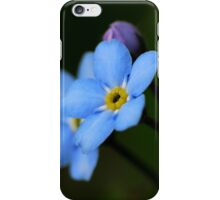 Forget-Me-Nots 10 iPhone Case/Skin
