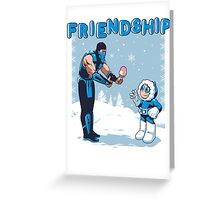 COOL FRIENDSHIP Greeting Card