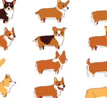 Corgis Sticker